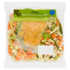 image 1 of Tesco Minestrone Soup Mix 600G