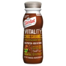 Slimfast Vitality Ready To Drink Shake Chocolate And Caramel 275Ml
