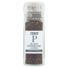 Tesco Whole Black Peppercorn 50G