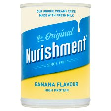 Nurishment Original Banana Milk Drink 400Ml