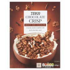 Tesco Chocolate Crisp Cereal 500G
