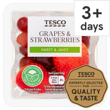 Tesco Grape And Strawberry 125G