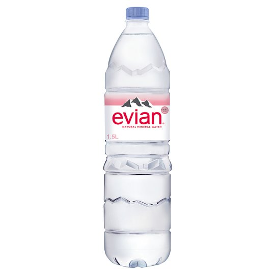 Evian Natural Mineral Water 1.5 Litres