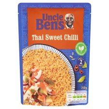 Uncle Bens Microwave Thai Sweet Chilli Rice 250G