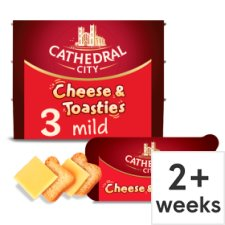Cathedral City Cheddar Cheese And Toasties 3 Pack