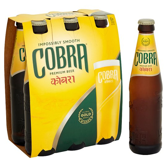 Cobra Indian Premium Lager 4 X 330Ml