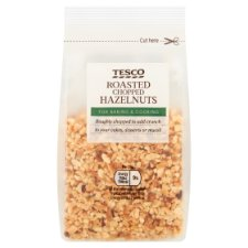 Tesco Roasted Chopped Hazelnut 100G