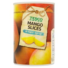 Tesco Mango Slices In Light Syrup 425G