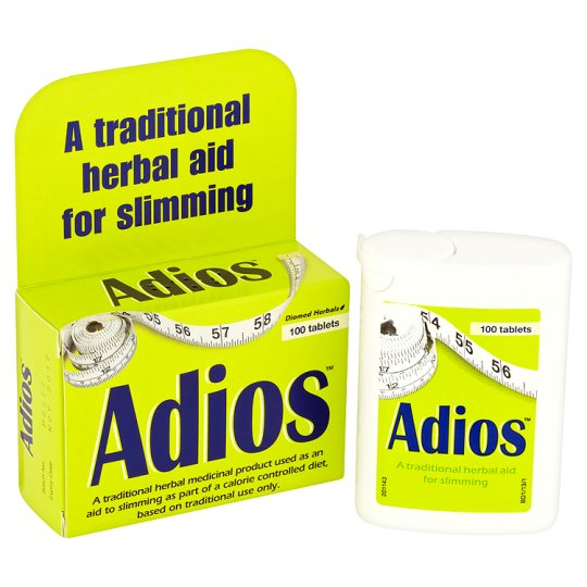 Adios Original Weight Loss Tablets