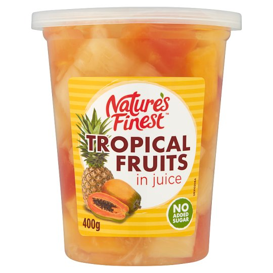 Nature's Finest Tropical Fruits In Juice 400G