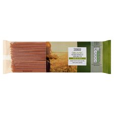 Tesco Organic Whole Wheat Spaghetti 500G