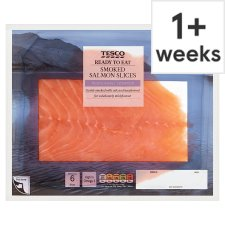 image 1 of Tesco Smoked Salmon 200G