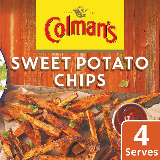 Colman's Share The Flavour Sweet Potato Chips 25G