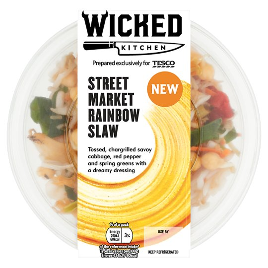 Wicked Kitchen Street Market Rainbow Slaw 150G