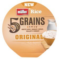 Muller Rice 5 Grains Yogurt Original 180G