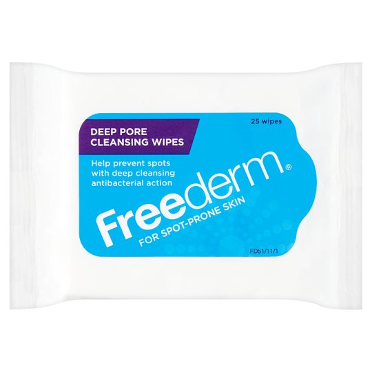Freederm Cleansing Wipes 25