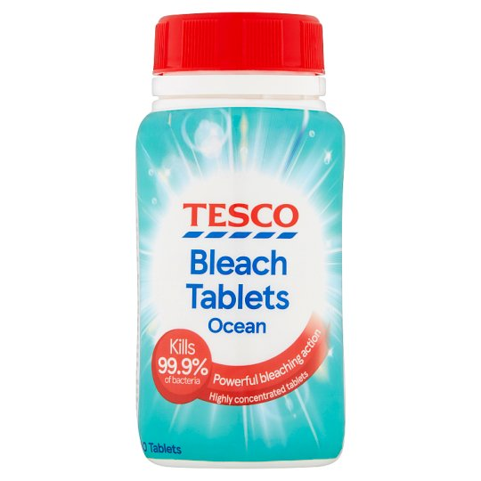 Tesco Ocean Bleach Tablets X40 160G