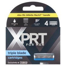Xprt. For Men 3 Blade Refills 4 Pack