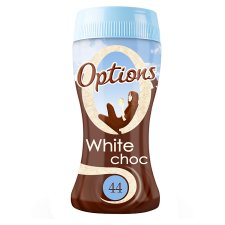 Options White Chocolate Drink 220G