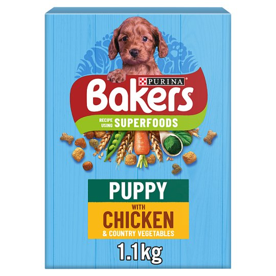 image 1 of Bakers Puppy Dog Food Chicken And Vegetable 1.1Kg