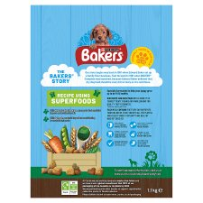 image 2 of Bakers Puppy Dog Food Chicken And Vegetable 1.1Kg