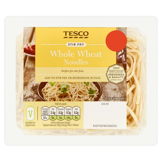 image 1 of Tesco Whole Wheat Noodles 300G