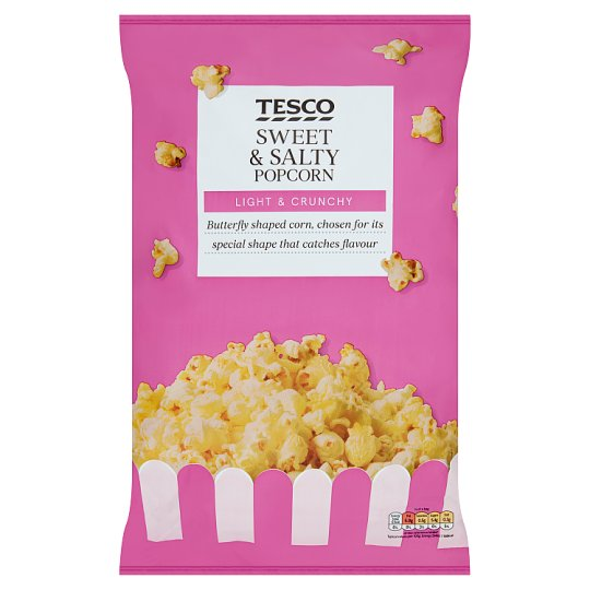 Tesco Sweet And Salty Popcorn 200 G