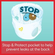 image 3 of Pampers Baby Dry Pants Size 3 Essential Pack 44 Nappies