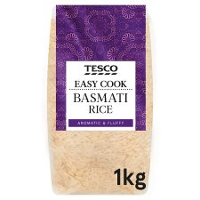 Tesco Easy Cook Basmati Rice 1Kg