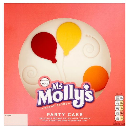 Ms Mollys Iced Party Cake