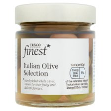 Tesco Finest Italian Olive Selection 200G