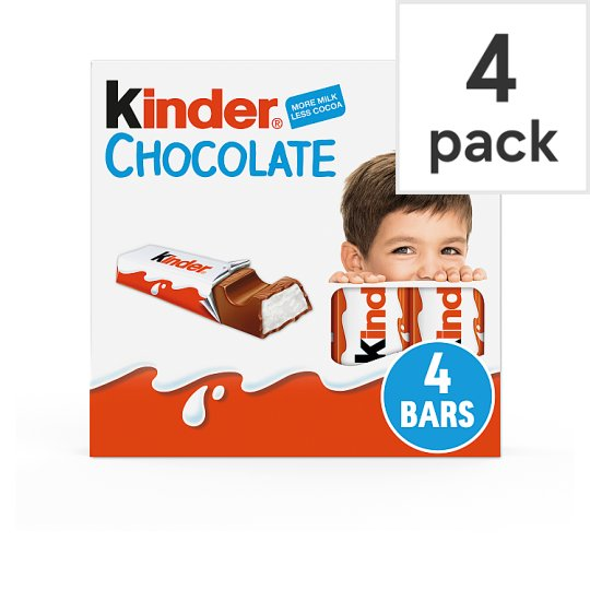 image 1 of Kinder Chocolate 4 Pack 50G
