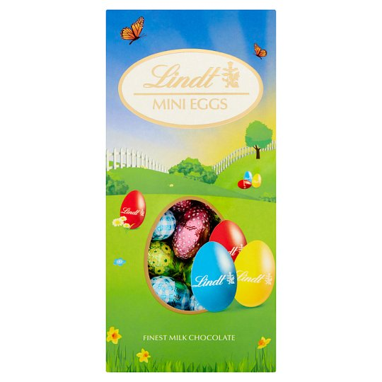image 1 of Lindt Milk Chocolate Mini Easter Eggs Pack 200G
