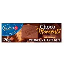 Bahlsen Choco Moments Crunchy Hazelnut Biscuit 120G