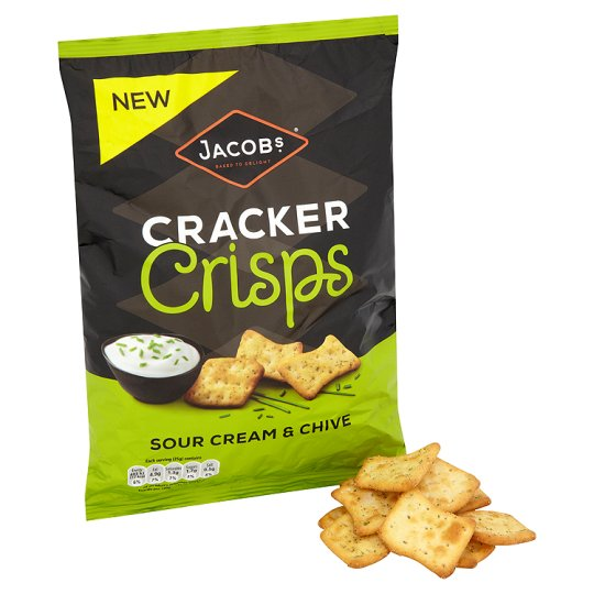 Jacobs Cracker Sour Cream And Chive 150 G