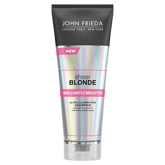 image 1 of J/Ff Brilliantly Brighter Sheer Blonde Shampoo 250Ml