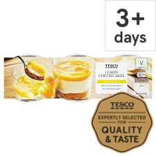 Tesco Lemon Cheesecake 3 X100g