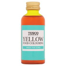 Tesco Yellow Food Colouring 60Ml