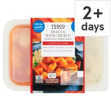 Tesco Sweet And Sour Chicken And Rice 450G
