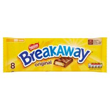 Nestle Breakaway Milk Chocolate Biscuit 8 Pack 152.8G