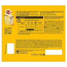 image 3 of Pedigree Chicken And Beef Puppy Food Pouches 4X100g