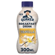 Quaker Vanilla Breakfast Smoothie 300Ml