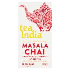 Tea India Masala Chai 40 Tea Bags 100G