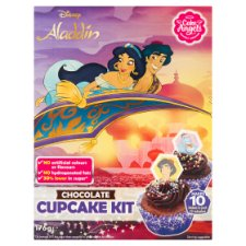 Cake Angels Disney Aladdin Chocolate Cupcakes 176G