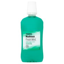 Tesco Freshmint Mouthwash 500Ml
