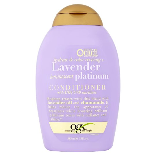 Ogx Lavender Conditioner 385ml Tesco Groceries