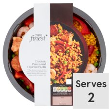 Tesco Finest Chicken Chorizo Prawn Paella 800G