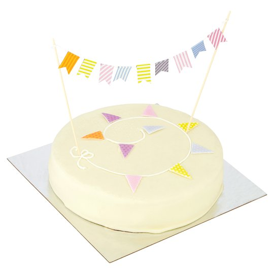 Tesco Groceries Cake Decorations : Tesco Bunting Cake - Groceries - Tesco Groceries