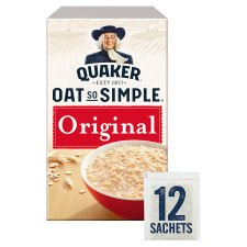 image 1 of Quaker Oat So Simple Original Porridge 12 X27g