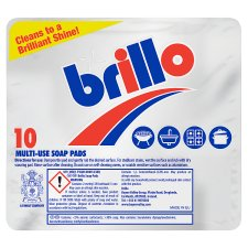 image 1 of Mr Muscle And Brillo Soap Pads 10 Pack